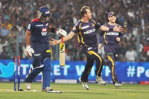 Brett Lee vs Unmukt Chand