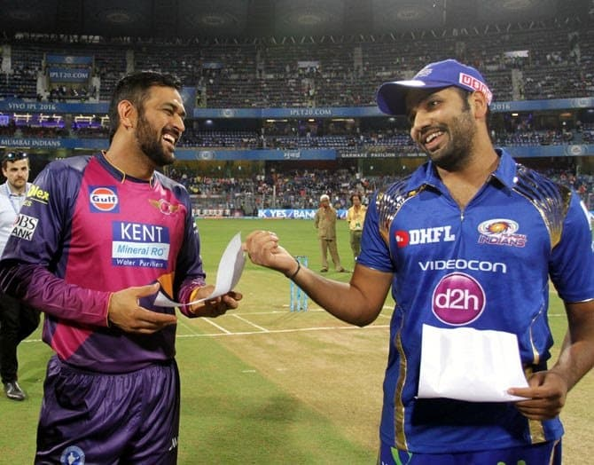 RPS Dhoni and MI Rohit