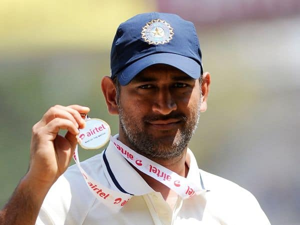 MS Dhoni in Test