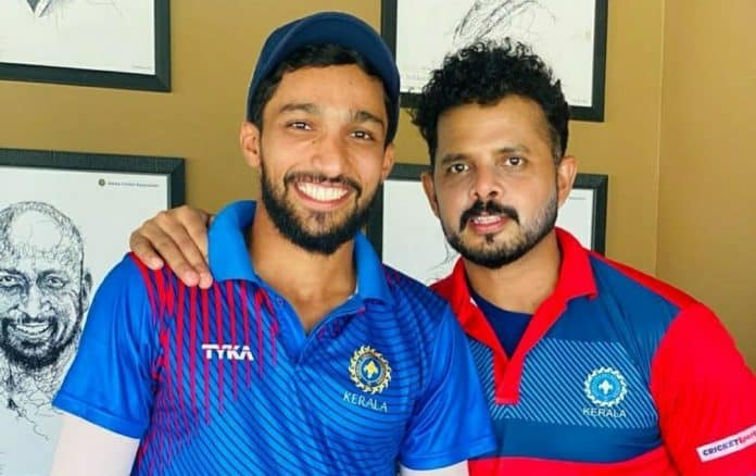 Mohammed Azharuddeen and Sreesanth SMAT
