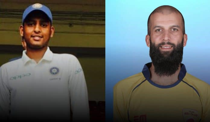 Bhagath Varma and Moeen Ali