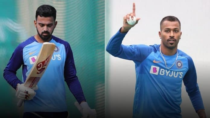 KL Rahul and Hardik Pandya Test