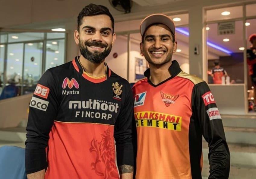 Virat Singh with Virat Kohli