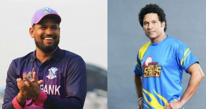 Yusuf Pathan and Sachin Tendulka