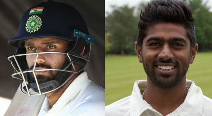 Indian Test cricketers Hanuma Vihari and Abhinav Mukund