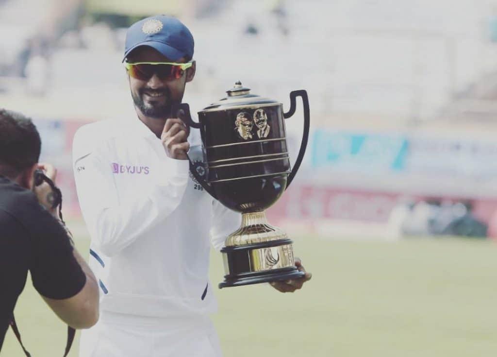 Indian Test cricketer Shahbaz Nadeem