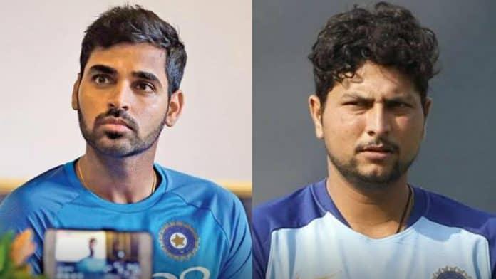 Bhuvneshwar Kumar and Kuldeep Yadav BCCI contract