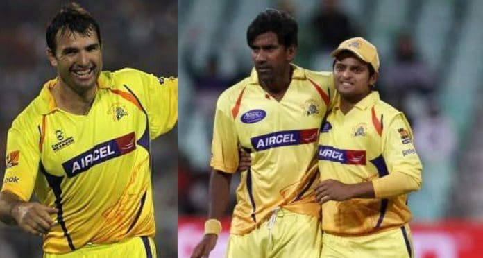 Playing XI When Suresh Raina Captained CSK For The First Time