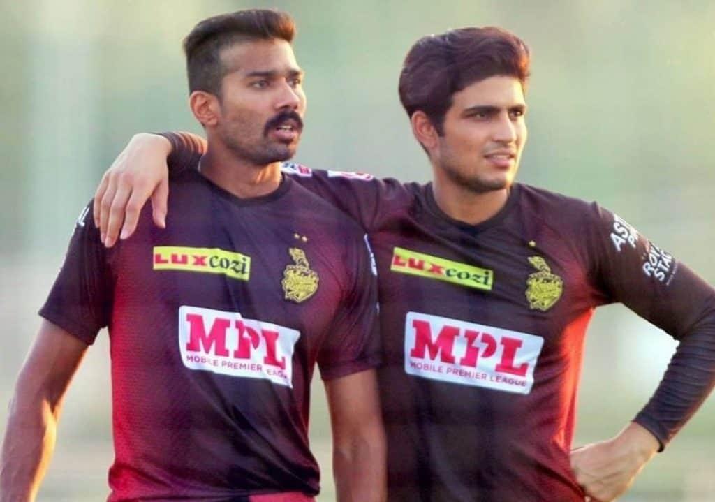 Sandeep Warrier and Shubman Gill