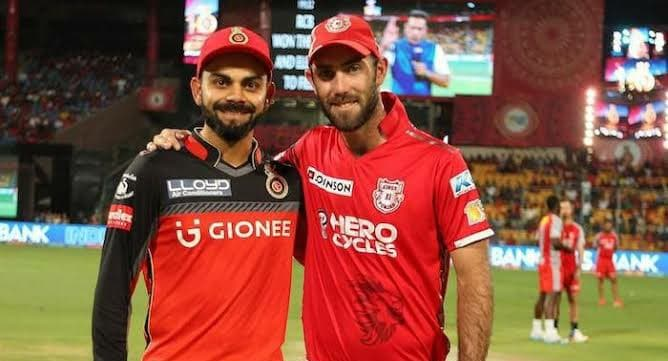 Virat Kohli and Glenn Maxwell