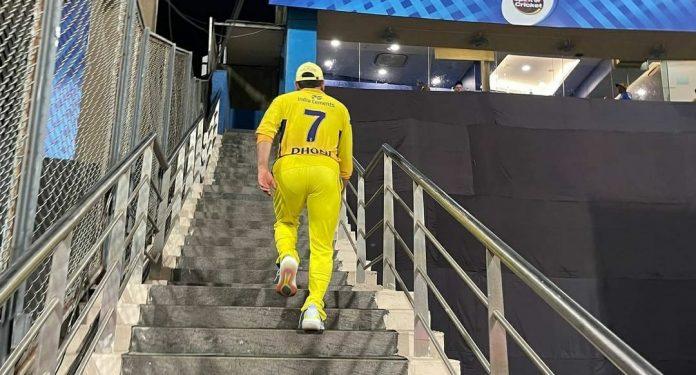 MS Dhoni IPL 2022