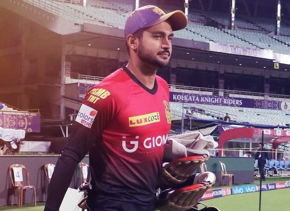 Manish Pandey in KKR