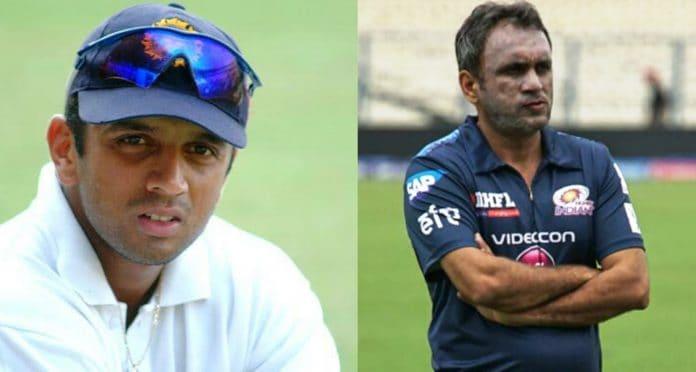 Rahul Dravid and Rahul Sanghvi