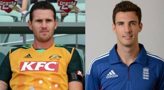 Shaun Tait and Steven Finn Cricket