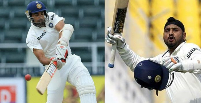 Zaheer Khan and Harbhajan Singh Test