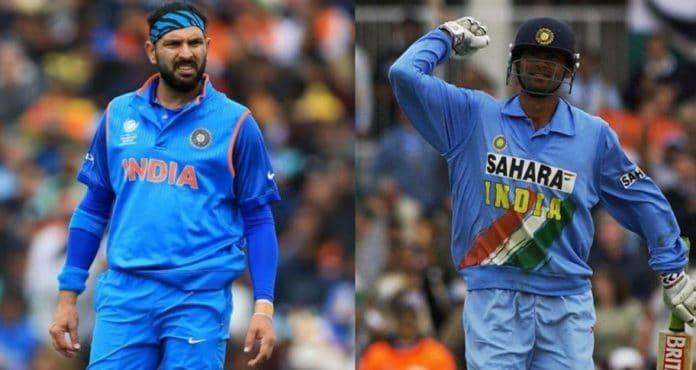 uvraj Singh and Mohammad Kaif ODI