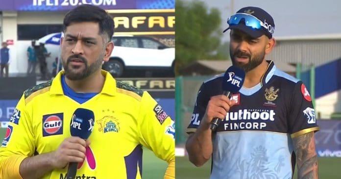 MS Dhoni and Virat Kohli IPL