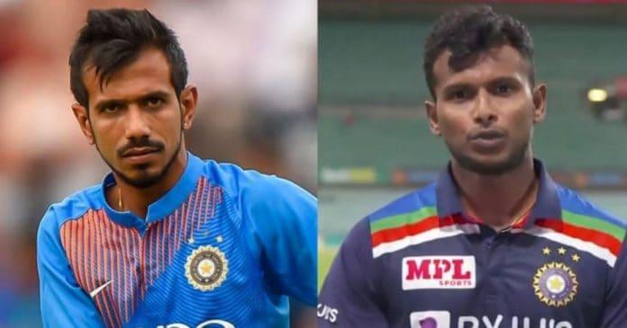 Yuzvendra Chahal and Natarajan T20I