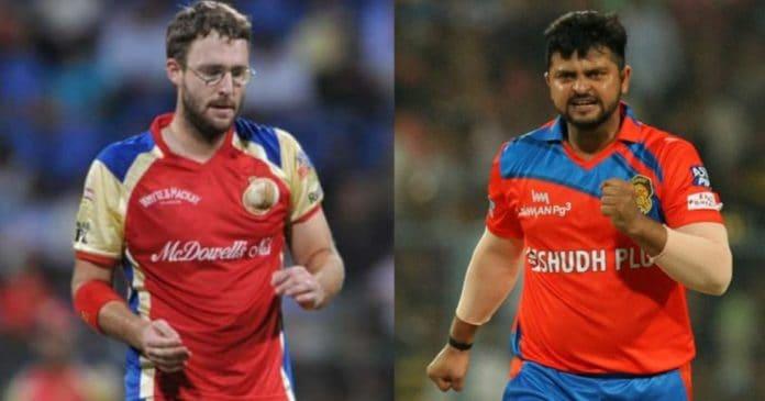 Daniel Vettori and Suresh Raina